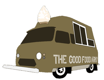 Good Food Army Commer Icecream Van